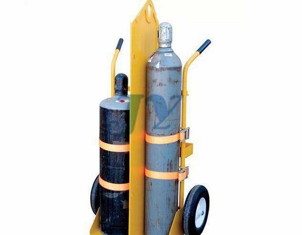 气瓶组架方式
